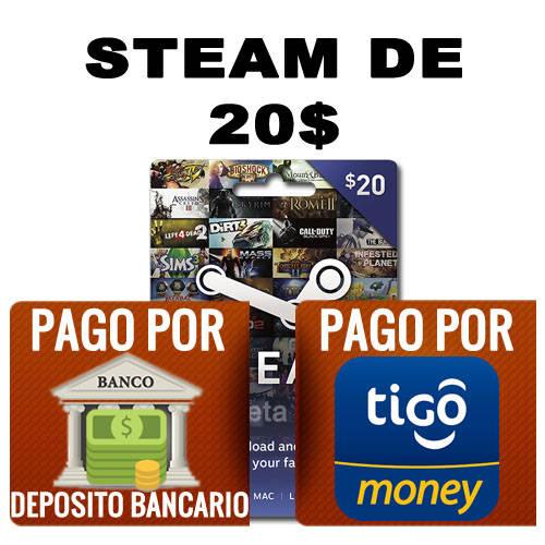 steam 20 dolares