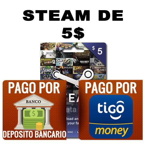 steam 5 dolares