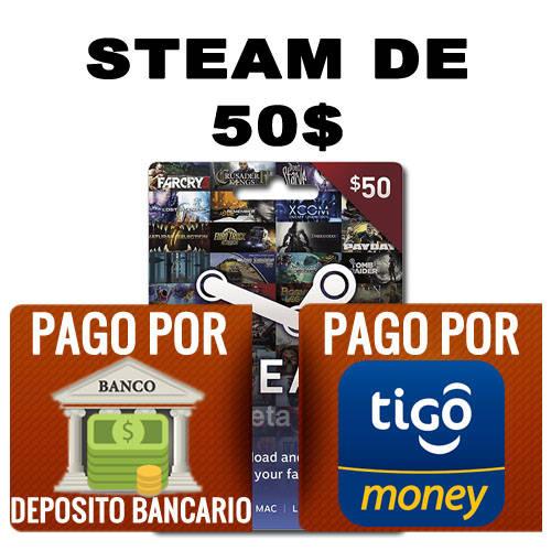 steam 50 dolares